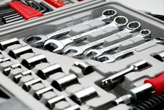 Conjunto de herramientas Imagen de archivo libre de regalías