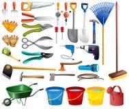 Conjunto de herramientas Imágenes de archivo libres de regalías