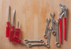Conjunto de herramientas Foto de archivo