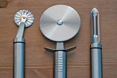 Conjunto de herramientas de la cocina Fotos de archivo libres de regalías