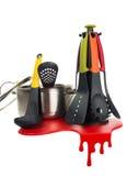 Conjunto de herramientas de la cocina Imagen de archivo