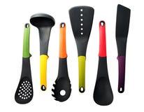 Conjunto de herramientas de la cocina Imagenes de archivo