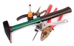 Conjunto de herramientas del mecánico foto de archivo