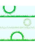 Conjunto de hierba Ilustración Ilustración del Vector