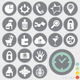 Conjunto de iconos Imagenes de archivo