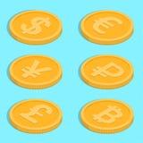 Conjunto de iconos stock de ilustración