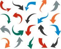 Conjunto de iconos de la flecha stock de ilustración
