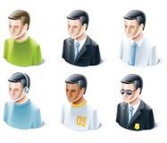 Conjunto de iconos de la gente libre illustration