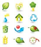 Conjunto de iconos de la naturaleza