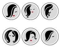 Conjunto de iconos del vector Fotografía de archivo