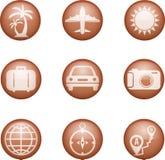 Conjunto de iconos médicos Ilustración del Vector