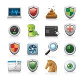 Conjunto de ilustraciones del icono Fotos de archivo libres de regalías