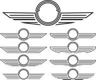 Conjunto de insignias Foto de archivo libre de regalías