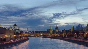 Conjunto de Kremlin e de Moskva-cidade de Moscou filme
