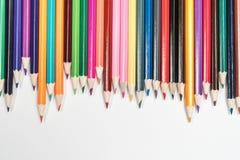 Conjunto de lápices Foto de archivo libre de regalías