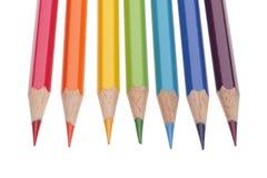 Conjunto de lápices del color Imagen de archivo