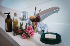 Conjunto de la bañera imagen de archivo libre de regalías