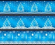 Conjunto de la bandera de la Navidad. libre illustration