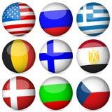 Conjunto de la bola del indicador nacional