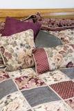 Conjunto de la cama Fotografía de archivo