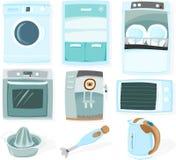 Conjunto de la cocina Fotografía de archivo libre de regalías