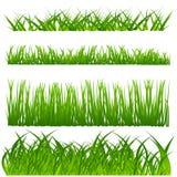 Conjunto de la decoración de la hierba Fotos de archivo libres de regalías