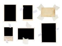 Conjunto de la foto de la vendimia Fotografía de archivo