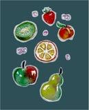 Conjunto de la fruta libre illustration