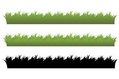 Conjunto de la hierba Imagen de archivo libre de regalías