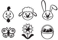 Conjunto de la historieta de Pascua