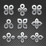 Conjunto de la insignia del vector Fotos de archivo