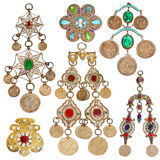 conjunto de la joyería de 200 años Fotografía de archivo