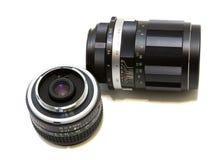 Conjunto de la lente de cámara fotografía de archivo libre de regalías