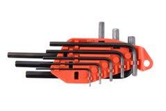 Conjunto de la llave screwdrivers-1 Imagen de archivo libre de regalías
