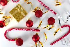 Conjunto de la Navidad Foto de archivo