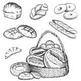 Conjunto de la panadería Libre Illustration