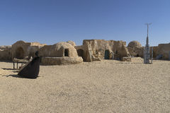 Conjunto de la película de Star Wars, Túnez Imagen de archivo libre de regalías