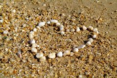 Conjunto de la playa Fotos de archivo libres de regalías