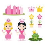 Conjunto de la princesa Foto de archivo