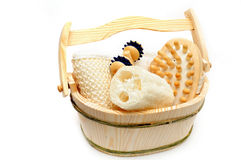 Conjunto de la sauna Imagen de archivo