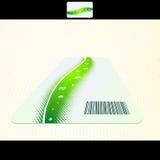 Conjunto de la tarjeta de visita del vector, elementos para el diseño Foto de archivo