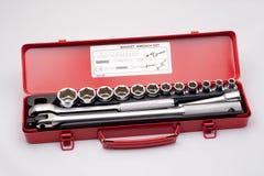 Conjunto de las herramientas metálicas 1 Fotografía de archivo libre de regalías