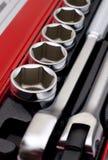 Conjunto de las herramientas metálicas 2 Fotografía de archivo libre de regalías