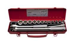 Conjunto de las herramientas metálicas 5 Fotografía de archivo