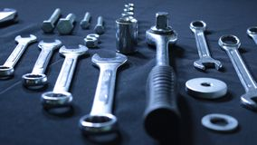 Conjunto de llaves Fotografía de archivo libre de regalías