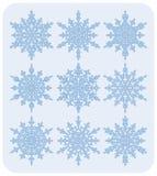 Conjunto de los copos de nieve Nr2 Imagen de archivo