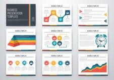 conjunto de los elementos de Infographic libre illustration