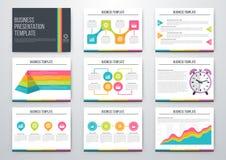conjunto de los elementos de Infographic stock de ilustración