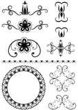 conjunto de los elementos para el diseño Imagen de archivo libre de regalías
