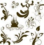 Conjunto de los elementos para el diseño Imagen de archivo